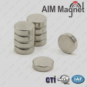China Disc 18mm dia. x 5mm industrial magnets for sale on sale
