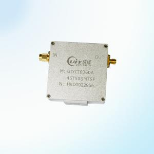 China UIY Coaxial isolator High Isolation customize 45~55MHz RF isolator SMA Male to SMA Femal on sale