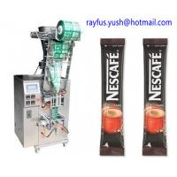 China Full Automatic Liquid Pouch Packing Machine For Granular Powder Coffee Sugar Condiment on sale