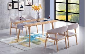 Upholstered Modern Natural Ash Wood Dining Room Chair Armrest For Sale Modern Dining Room Furniture Manufacturer From China 109915039