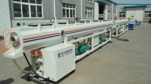 China HDPE / LDPE Drainage Pipe Plastic Extrusion Machine , Water Plastic Pipe Extruder on sale
