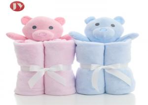 China Wholesale Baby Blankets, Animal Design Baby Blankets With Plush Toys supplier