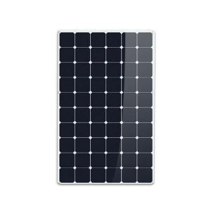 China Sunpower ETFE Flexible Solar Panels 60 Cells 125X125 200 Watt IP67 With Diodes on sale