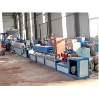 China Single / Double Screw Extruder Machine For PP Straps Bnading Manufacture on sale