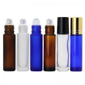 China ISO8317 5ML 10ML Glass ISO8317 Roll On Perfume Bottles on sale