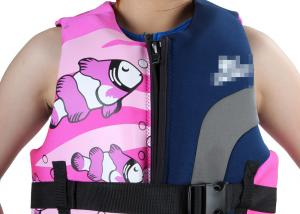 China Illustration Art Graphics Girl floating Jacket Vest, neoprene swim Watersport Life Jackets on sale