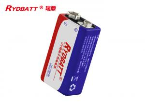 China RYDBATT 9V 6F22 2S1P Polymer Li Ion Battery Pack / 7.4V 500mAh PCM Lithium Ion Polymer Cell on sale