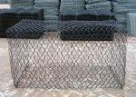 2*1*1m Retaining Wall 60*80mm Gabion Wire Mesh