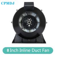 China Industry IP44 639CFM Low Noise High Temperature 8 Inch Duct Booster Fan on sale