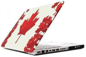 China MacBook air/pro/retina water decal PC protective case cover ---Maple leaf on sale