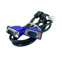 China 1.5m High Speed 4+5 15Pin Male To Male VGA Cable For PSP PC on sale