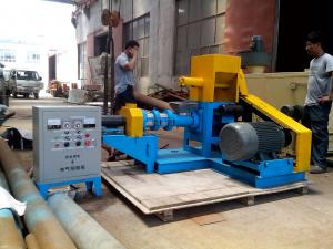 China 22KW  Floating Fish Feed Extruder Machine 1mm~6mm Output Size ISO on sale