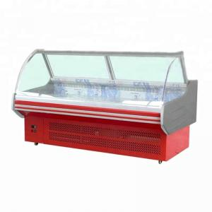 China N-ST Climate Type Deli Food Hot Warmer Display Counter With Front Open Fix Glass on sale