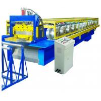 China Auto Operation Standing Seam Metal Roof Machine 12-18m/Min CE SGS Approved on sale