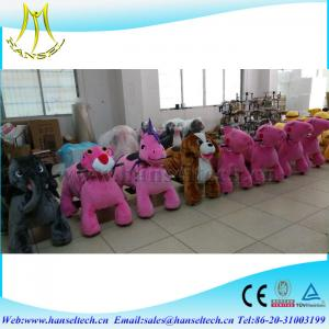 China Hansel Indoor And Outdoor Kids Rides On Toy Animal Toys Cars To Make Money on sale