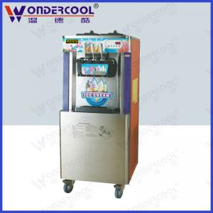 China 52L Commercial colorful floor standing soft serve best ice cream vending machine on sale