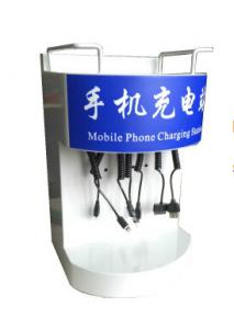 China Desktop Free Cell Phone Charging Station For Bars OEM Mobile Phone Charging Kiosk on sale