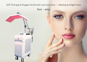 China Acne Treatment Oxygen Facial Machine Hydra Dermabrasion 5MHz RF Power on sale