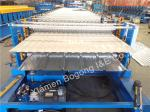 380V CR12 Blade Double Level 0.7mm Metal Wall Panel Roll Forming Machine