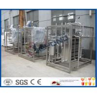 China 2TPH-20TPH  Plate heat exchanger and cooler with large gap for pasteurized milk/Yogurt /fermentated drink on sale