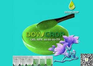 China GEL NPK SUSPENSION LIQUID DOWCROP HIGH QUALITY HOT SALE 100% COMPLETELY WATER SOLUBLE FERTILIZER ORGANIC FERTILIZER on sale
