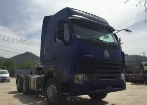 China SINOTRUK HOWO Semi Trailer Tractor Truck Head With Air Conditioner 60-70 Tons on sale
