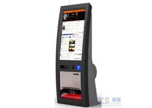 China Self-help Shoe Polisher Service Kiosk , RFID / NFC Card Payment Bar Code Reader Terminal on sale