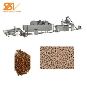 China China Large Capacity Twin Screw Extruder Fish Feed Extruder Fish Feed Pellet Machine on sale