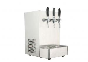 China Soda And Cold Drinking Water Dispenser Fountain S5/T Stainless Steel Desktop Cooler on sale