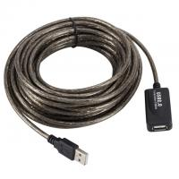 China PC USB 2.0 A Male To A Female 30M USB Port Extension Cable on sale
