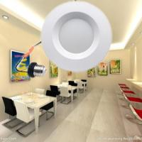 China 12W 900LM 3CCT 6 LED Recessed Lighting Dimmable on sale