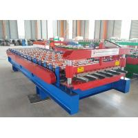China 1250 IBR color steel roof panel Sheet Metal Roll Forming Machines on sale
