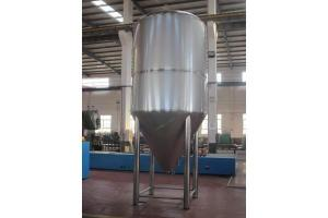 China Argon Arc Weld Stainless Steel Beer Container , Conical Fermentation Tank on sale