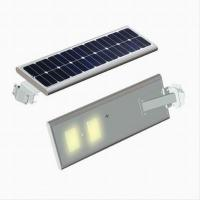 China All In One Solar Powered Lamp Post Light , Pole Mounted Solar Lights 60 Watt Smart on sale