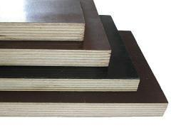 China Dark Brown Film Faced Plywood with Phenolic Glue, Dynea brown film faced plywood on sale