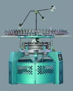 China Factory Price Machinery High Speed 4-Thread Fleece Circular Knitting Machine on sale