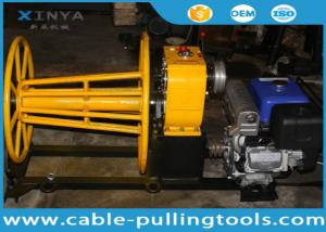 China 3 Ton Yamaha Petrol Engine Cable Pulling Winch Machine With Cable Drum For Sale on sale