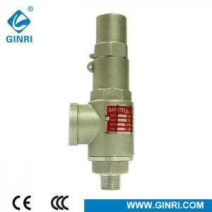 China threaded connection 3/4'' air pressure safety relief valve for boiler steam on sale