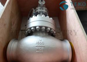 China A216 WCB Carbon Steel Body Flanged End BS 1873 Globe Valve Plug Type Disc 150Lb ~ 2500Lb on sale