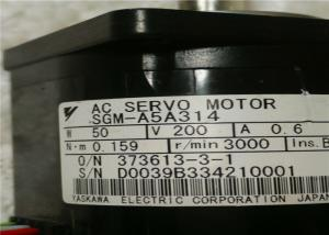 China SGM-A5A314 Yaskawa Sigma-II AC Compact Servo Motor 0.6A 200V 50W 0.07HP on sale