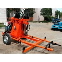 China Water Core Portable Borehole Drilling Machine 100m For Prospecting on sale