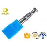 China High Speed Cnc Router End Mills  Multi - Edged Large Screw Angle Design on sale