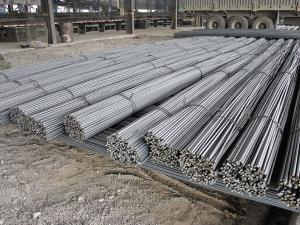 China Ribbed / Thread Deformed Reinforcing Steel Bars Steel Reinforcing Rod on sale