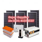 Low Iron Temered Glass IP65 Solar PV Panel Mono-Crystalline Silicon Solar Module