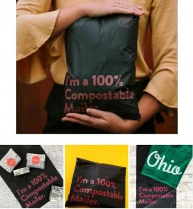 China Colored Poly Mailers Custom Courier Bag Adhesive Tape Express Plastic Mailing Bags Black Wholesale Shipping Postal Bags on sale