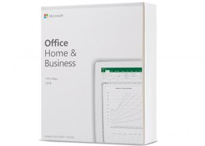 China Windows Microsoft Home Office And Business 2019 , Office 2019 Home And Business Key on sale