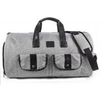 China Polyester Oxford Fabric Canvas Travel Duffel Bag on sale
