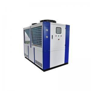 China Extruding Machine Cooling Water Chiller Air Cooled 40 Ton Chiller Price For PVC Line Water Chiller on sale