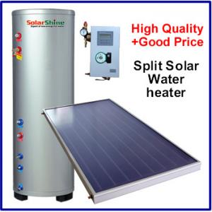 China Safety Split Solar Water Heater , Roof Mounted Solar Water Heater 3 Years Warranty on sale