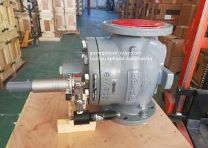 China EZR Model Fisher Gas Regulator With 161EB Pilot Valve High Flow Rate Usage Filed on sale